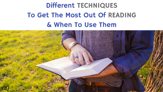 how to get most out of reading
